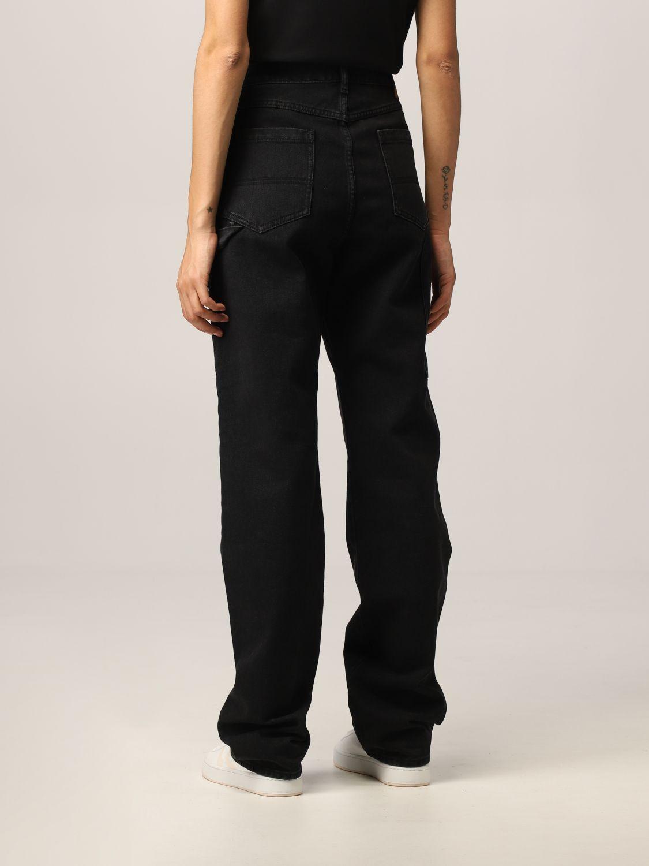 Pantalone Kenzo: Jeans Kenzo in denim nero 3
