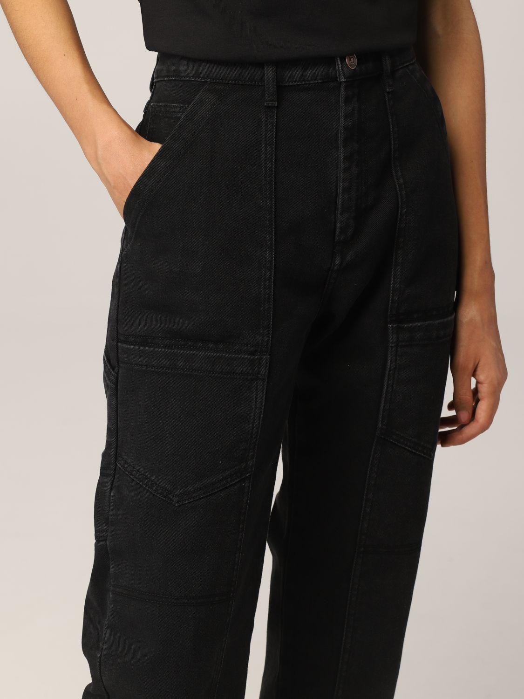Pantalone Kenzo: Jeans Kenzo in denim nero 5
