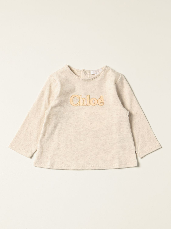 T-shirt Chloé: T-shirt enfant ChloÉ beige 1