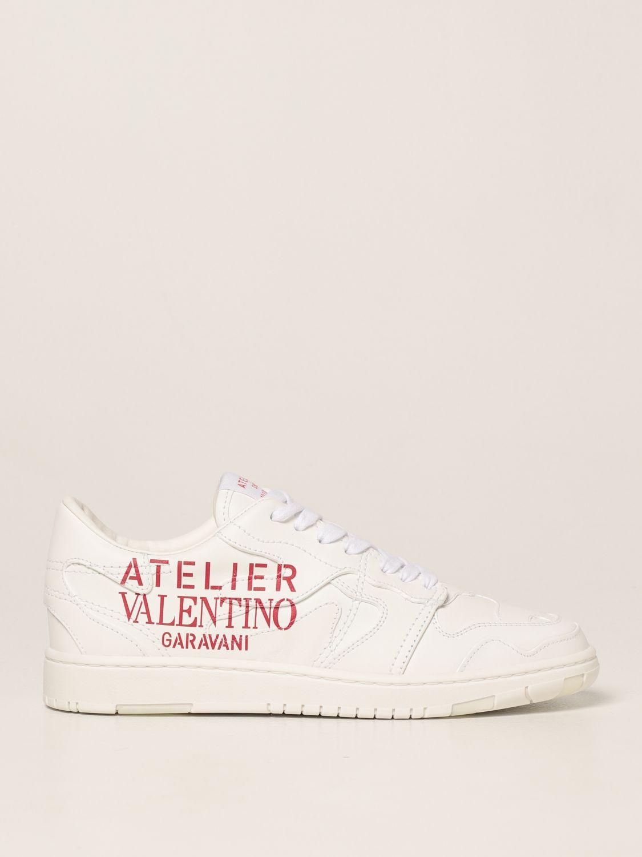 Sneakers Valentino Garavani: Sneakers Atelier Shoes 07 Valentino Garavani in pelle bianco 1