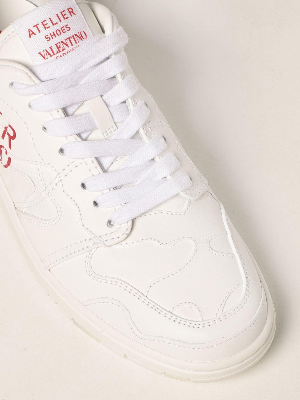 Sneakers Valentino Garavani: Sneakers Atelier Shoes 07 Valentino Garavani in pelle bianco 4