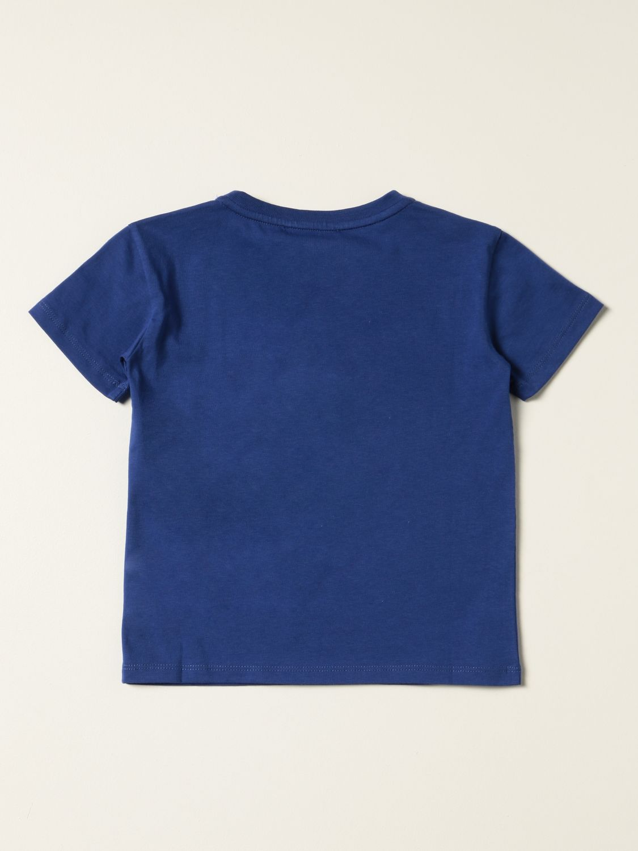 Camisetas Emporio Armani: Camisetas niños Emporio Armani azul oscuro 2