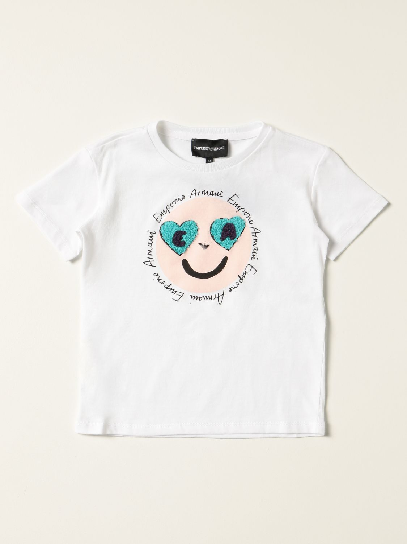 Camisetas Emporio Armani: Camisetas niños Emporio Armani azul oscuro 1 1
