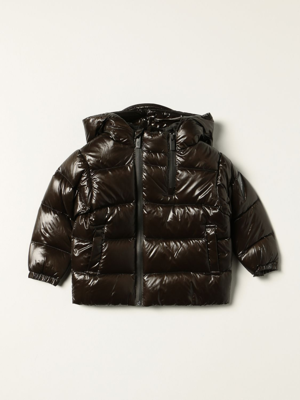 Jacket Emporio Armani: Emporio Armani down jacket in shiny nylon green 1