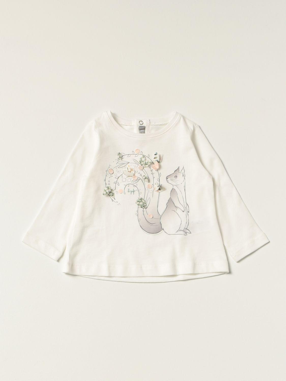 T-shirt Il Gufo: T-shirt kids Il Gufo white 1