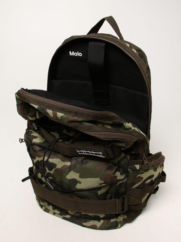 Duffel Bag Molo: Molo rucksack with camouflage print green 4
