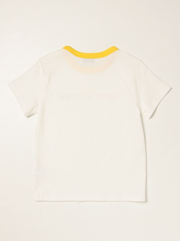 T-shirt Little Marc Jacobs: T-shirt Little Marc Jacobs con logo bianco 2
