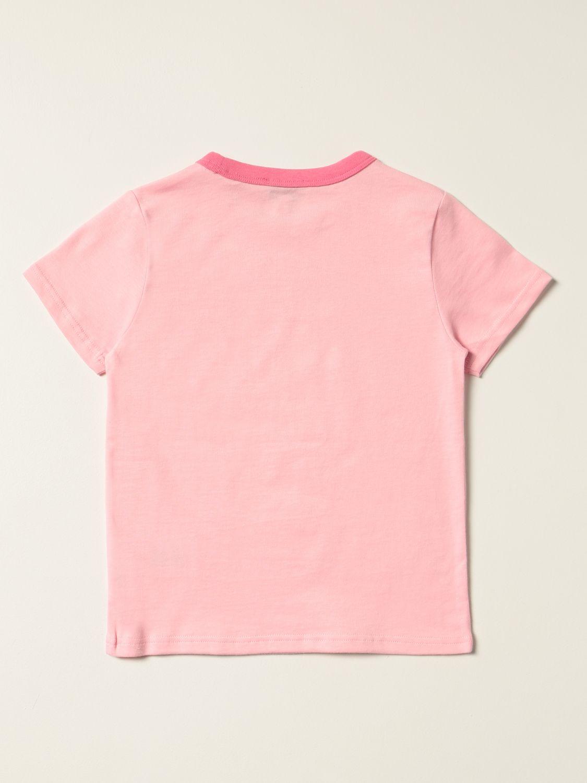 T-shirt Little Marc Jacobs: T-shirt Little Marc Jacobs con logo rosa 2