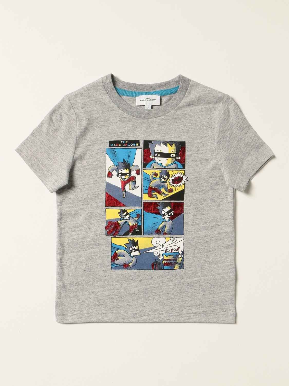 T-shirt Little Marc Jacobs: T-shirt enfant Little Marc Jacobs gris 1