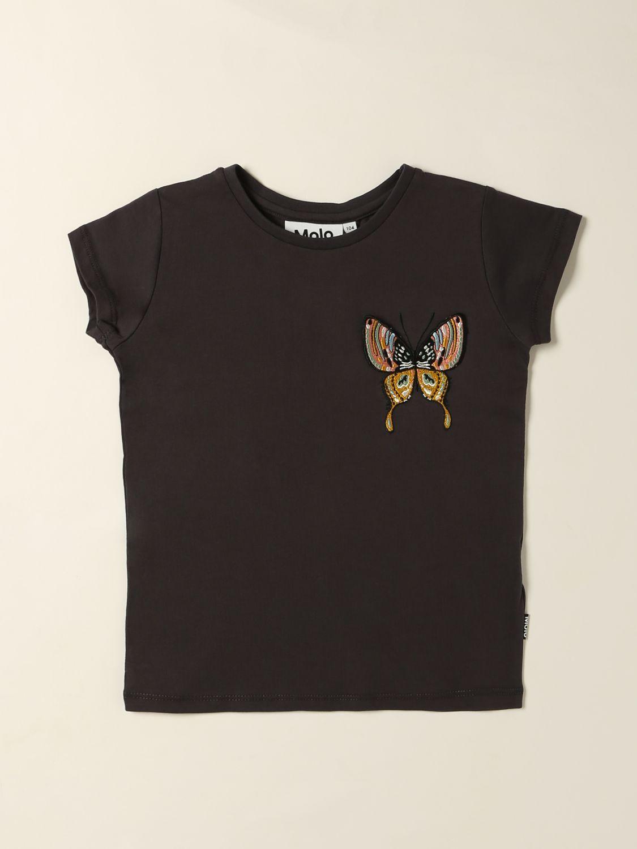 T-shirt Molo: T-shirt enfant Molo violet 1