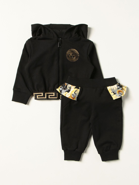 Jumpsuit Young Versace: Versace Young sweatshirt + pants set black 1