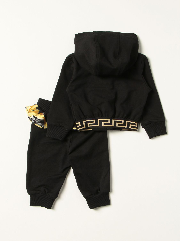Jumpsuit Young Versace: Versace Young sweatshirt + pants set black 2
