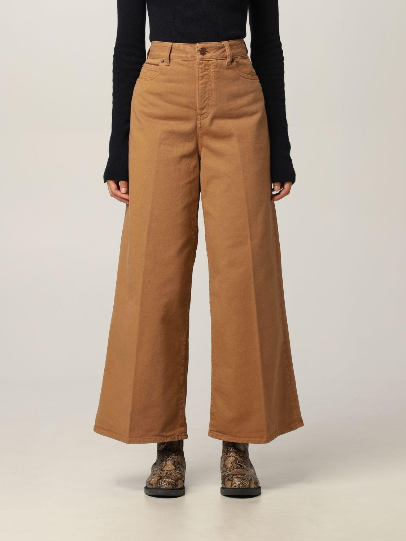 Jeans Victoria Victoria Beckham: Jeans damen Victoria Victoria Beckham braun 1