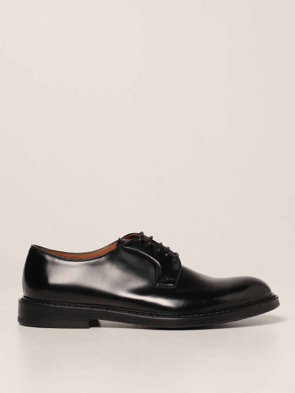 Zapatos de cordones Doucal's: Zapatos hombre Doucal's negro 1