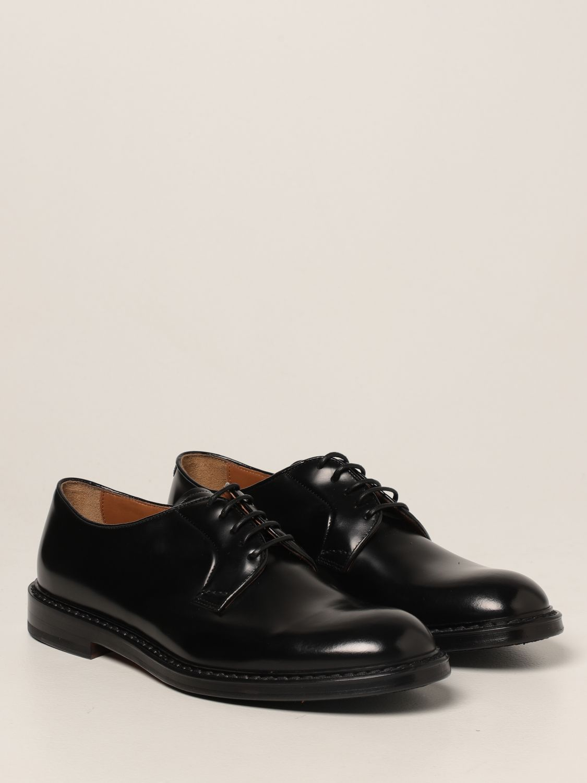 Zapatos de cordones Doucal's: Zapatos hombre Doucal's negro 2