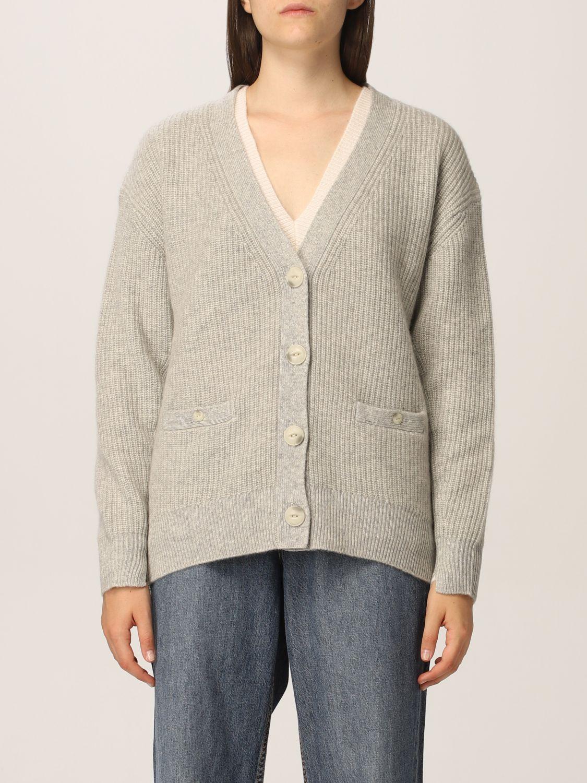 Cardigan Rag & Bone: Sweater women Rag & Bone grey 1