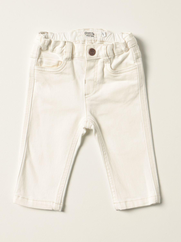 Jeans Bonpoint: Jeans Bonpoint a 5 tasche bianco 1