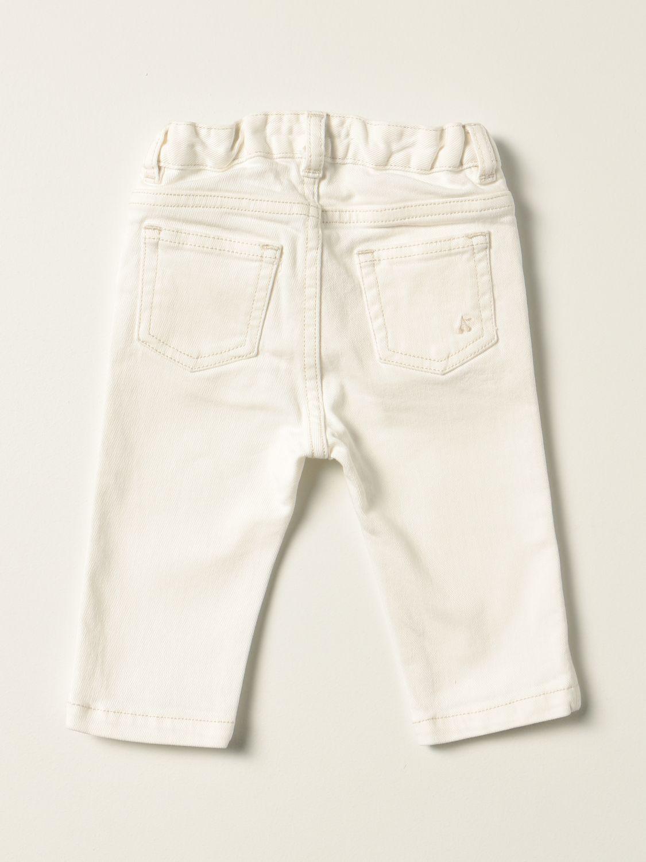 Jeans Bonpoint: Jeans Bonpoint a 5 tasche bianco 2
