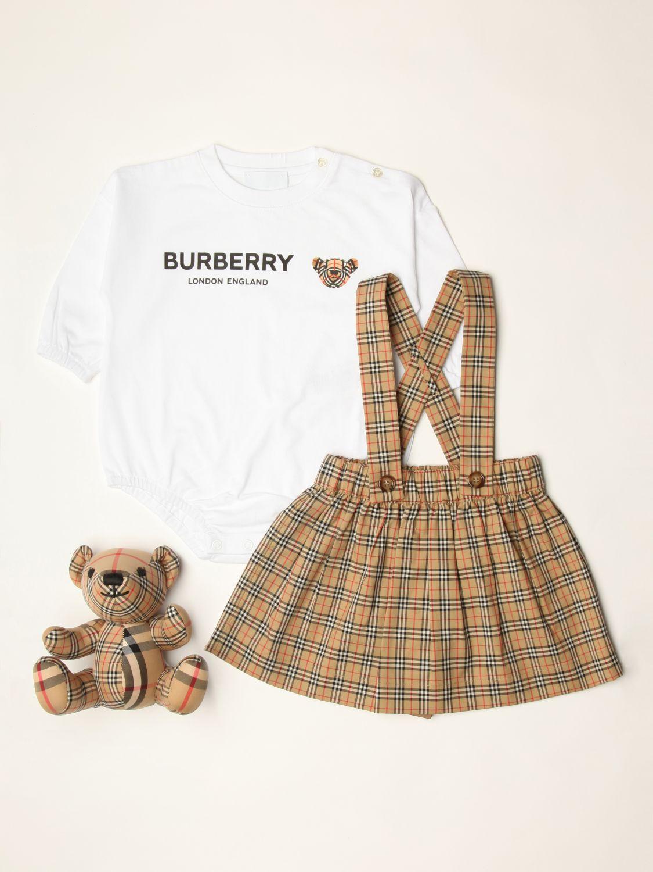 Распашонка Burberry: Распашонка Детское Burberry бежевый 1