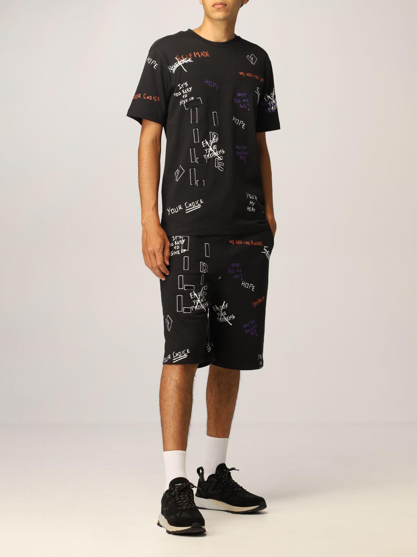 T恤 Self Made: T恤 男士 Self Made 黑色 2