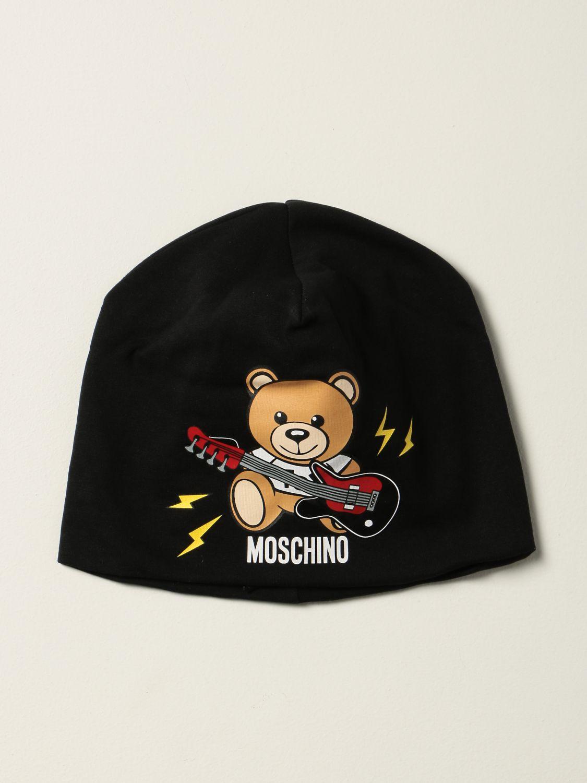 Hat Moschino Kid: Hat kids Moschino Kid black 1