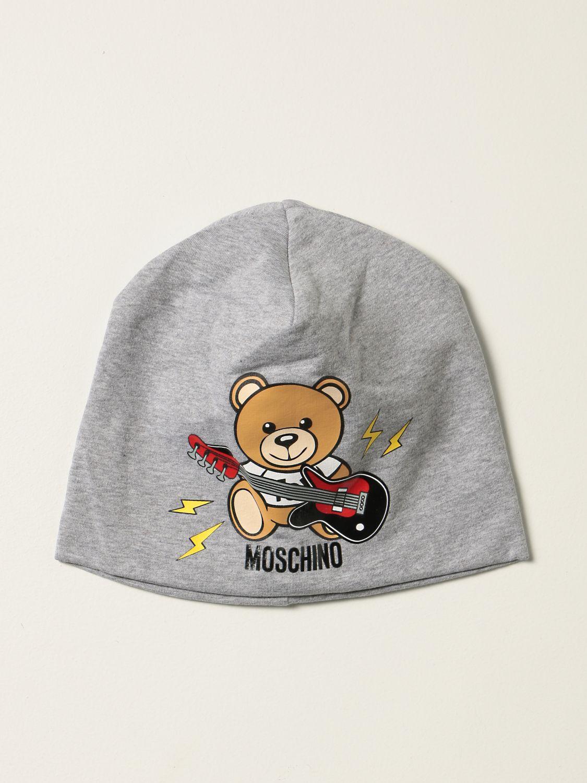 Hat Moschino Kid: Hat kids Moschino Kid grey 1