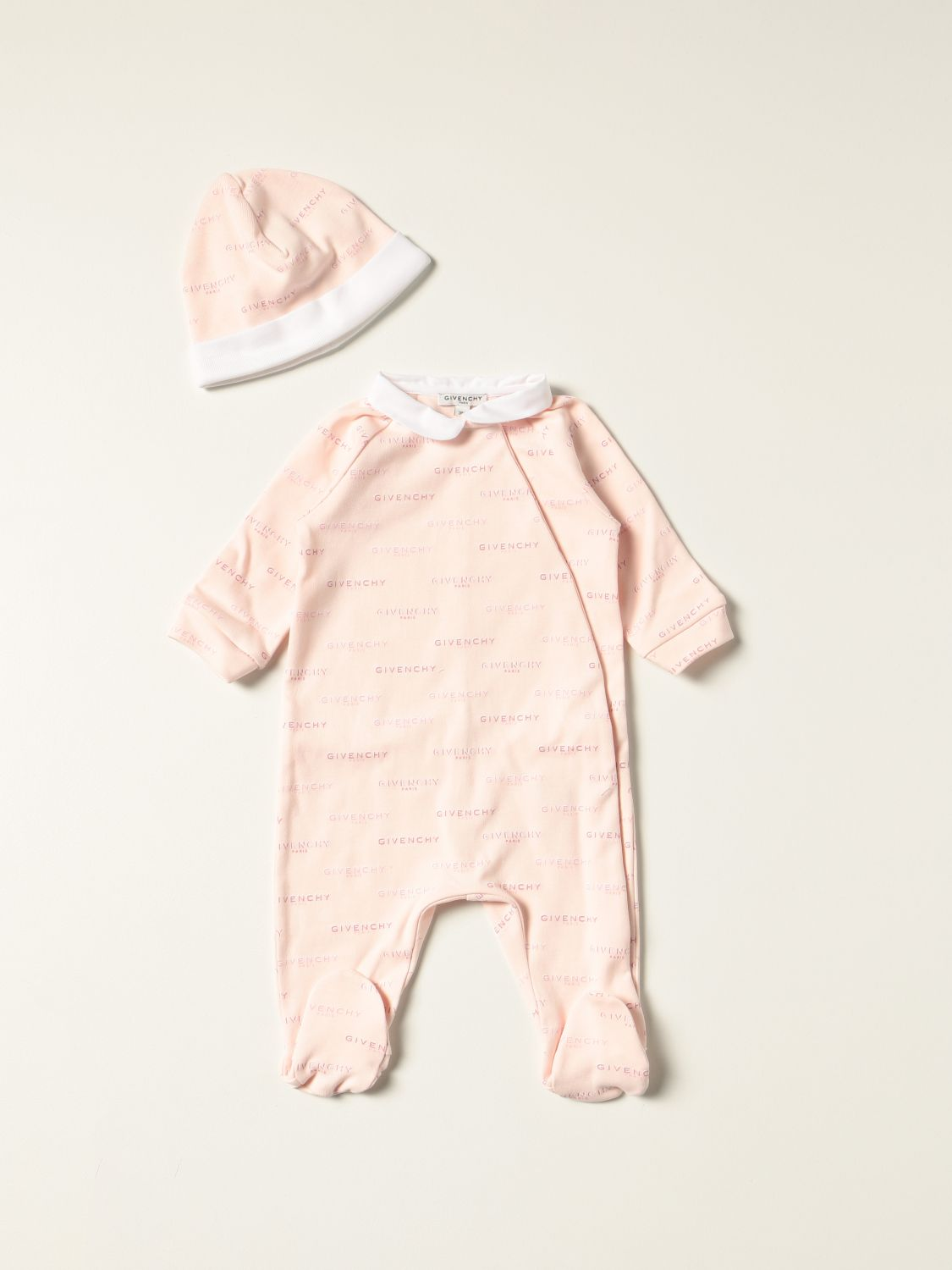 Pack Givenchy: Tracksuit kids Givenchy pink 1