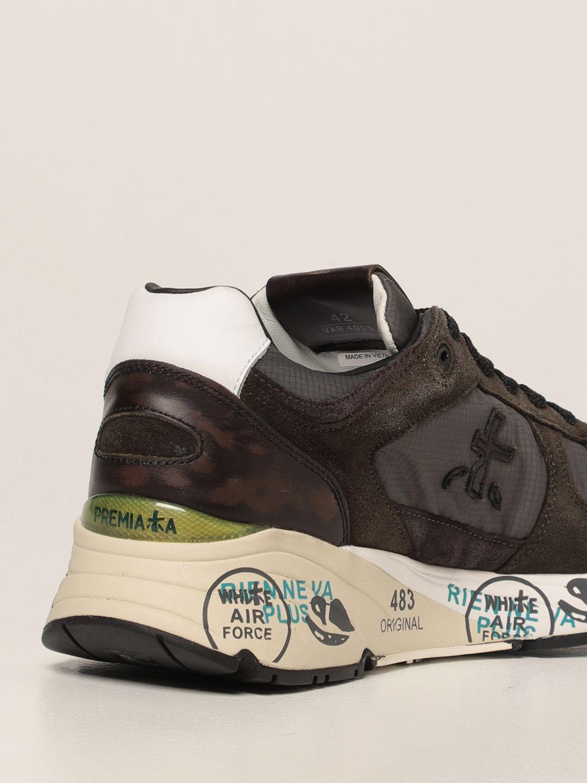 Sneakers Premiata: Sneakers Mase Premiata in nylon e camoscio verde 3