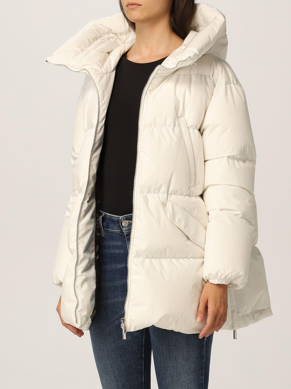 Jacket Moorer: Jacket women Moorer white 3