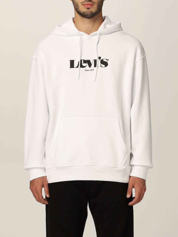 Sweatshirt Levi's: Sweatshirt herren Levi's weiß 1