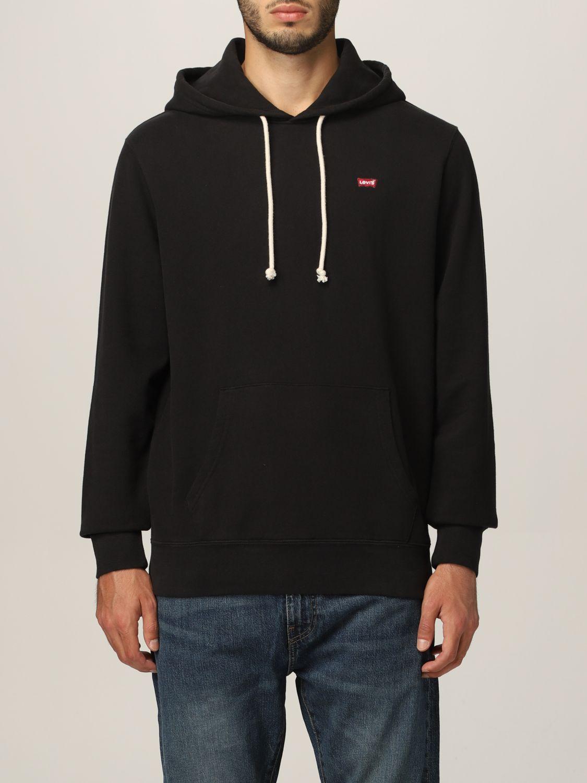 Sweatshirt Levi's: Sweatshirt herren Levi's schwarz 1
