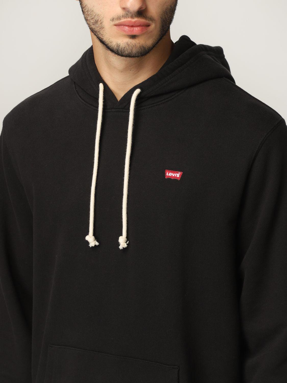 Sweatshirt Levi's: Sweatshirt herren Levi's schwarz 3