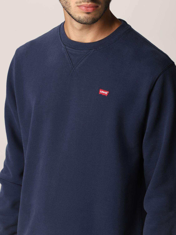 Sweatshirt Levi's: Sweatshirt herren Levi's blau 4