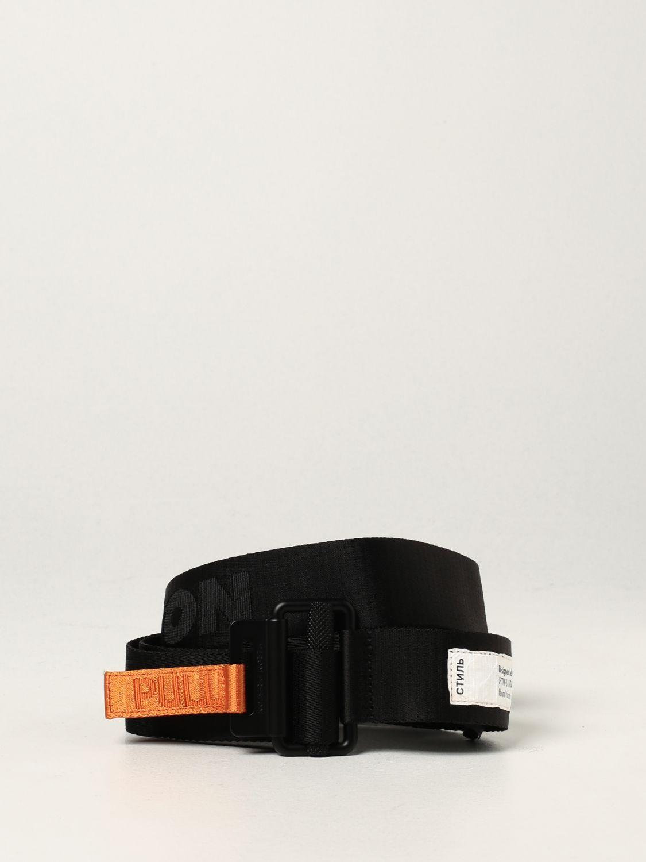 Cinturón Heron Preston: Cinturón hombre Heron Preston negro 1