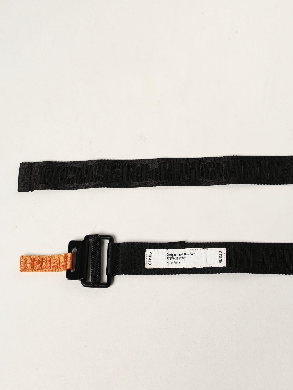 Cinturón Heron Preston: Cinturón hombre Heron Preston negro 2