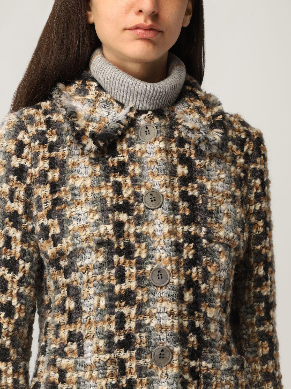 Giacca Lorena Antoniazzi: Giacca Lorena Antoniazzi in lana beige 5