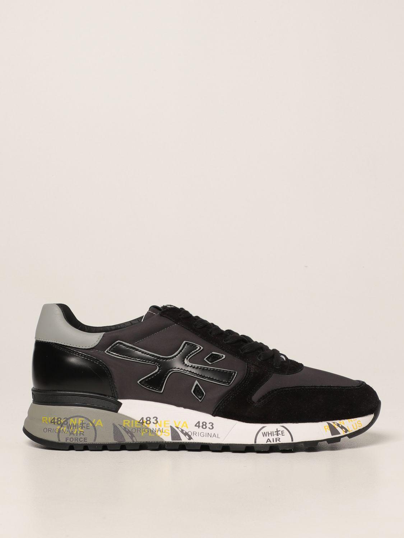 Sneakers Premiata: Sneakers Mick Premiata in nylon e camoscio nero 1