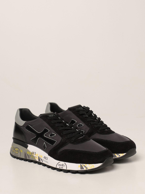 Sneakers Premiata: Sneakers Mick Premiata in nylon e camoscio nero 2