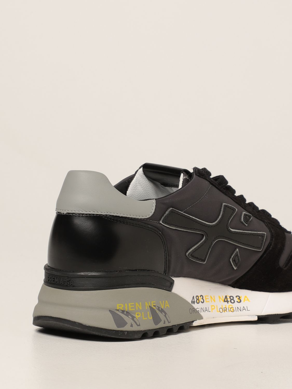 Sneakers Premiata: Sneakers Mick Premiata in nylon e camoscio nero 3
