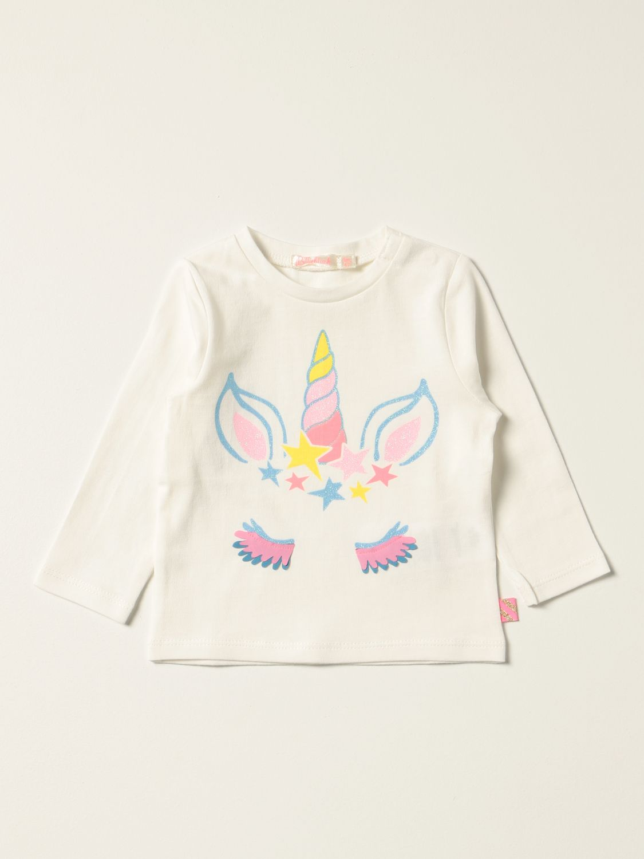 T-shirt Billieblush: Billieblush cotton t-shirt with print ivory 1