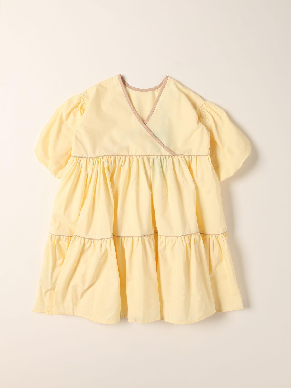 Dress Molo: Dress kids Molo ocher 1