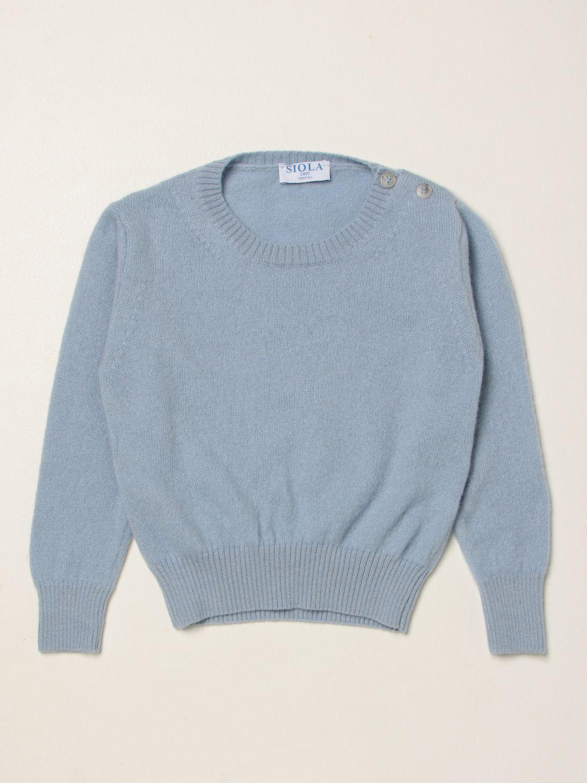 毛衣 Siola: 毛衣 儿童 Siola 天蓝色 1