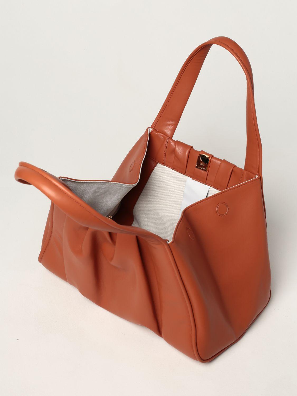 Shoulder bag Themoirè: Shoulder bag women ThemoirÈ red 3