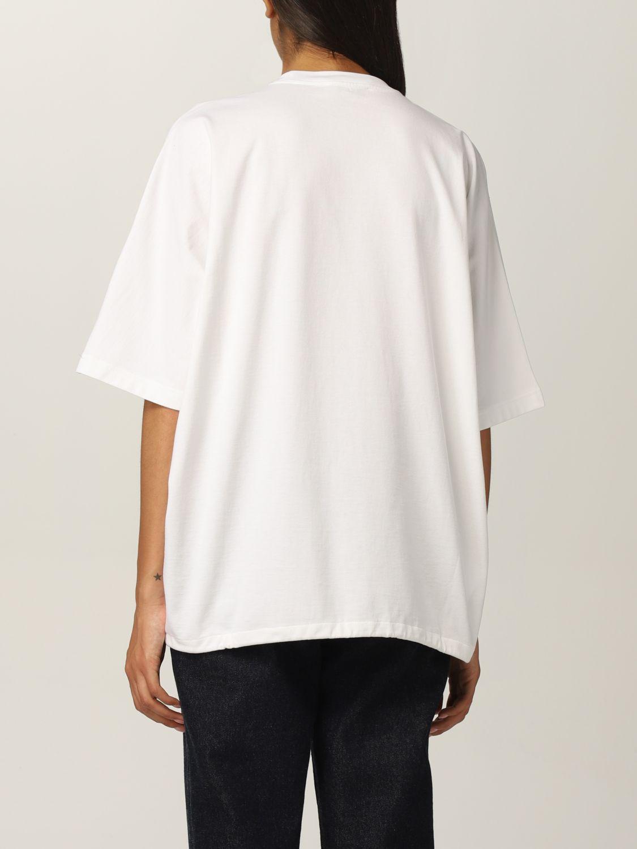 T-shirt Prada: T-shirt donna Prada bianco 3
