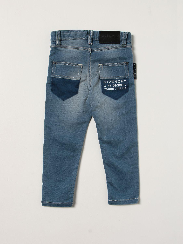 Jeans Givenchy: Jeans enfant Givenchy gris 2