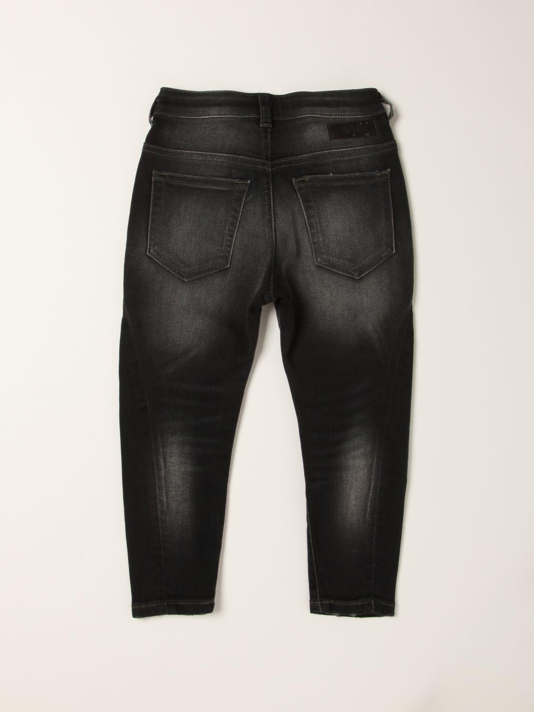 Jeans Diesel: 5-pocket Diesel ripped jeans black 2