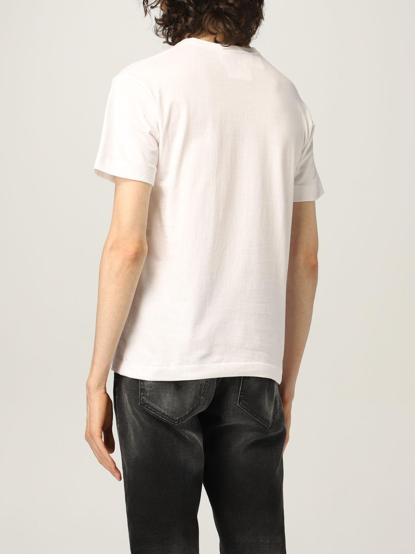 T-shirt Comme Des Garcons Play: T-shirt uomo Comme Des Garcons Play bianco 2