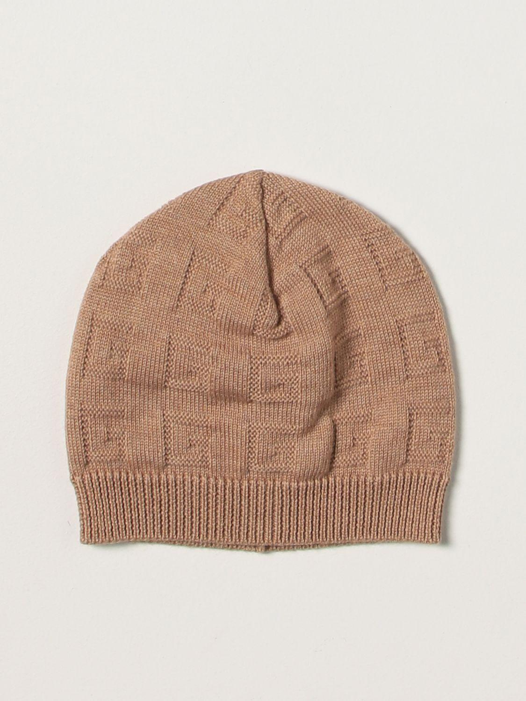 Cappello bimba Gucci: Cappello bimba bambino Gucci cammello 1