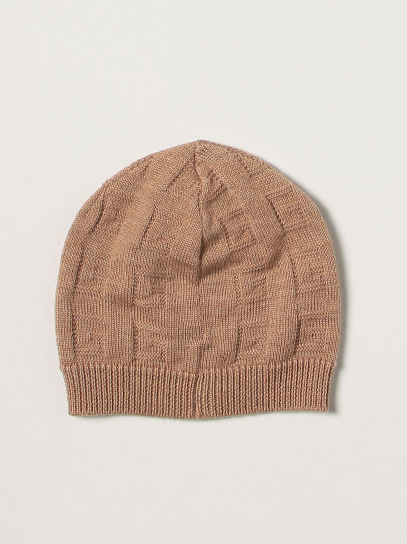 Cappello bimba Gucci: Cappello bimba bambino Gucci cammello 2