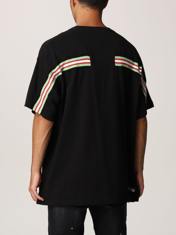 T-shirt Facetasm: T-shirt men Facetasm black 2